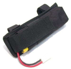 Adjustable External Battery Pouch